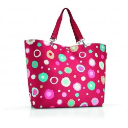 SHOPPER XL FUNKY DOTS 2 RED