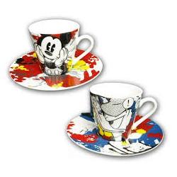 2 TAZZINE DA CAFFE'...